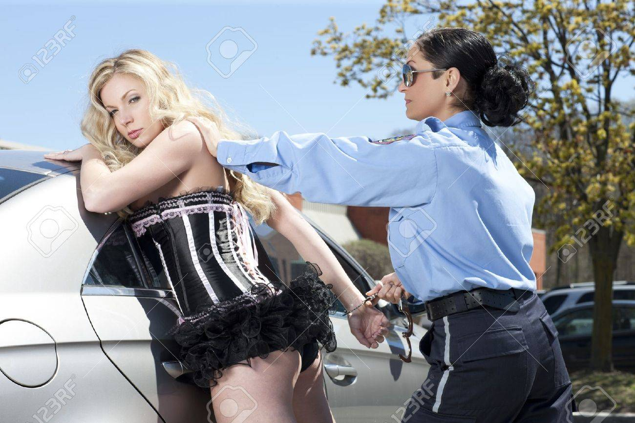 Ladies handcuffing Video shows