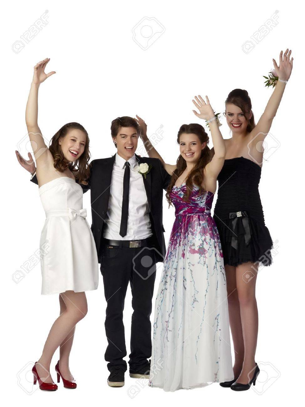 Erfreut Weißer Abschlussball Gekleidet Fotos - Hochzeit Kleid Stile ...
