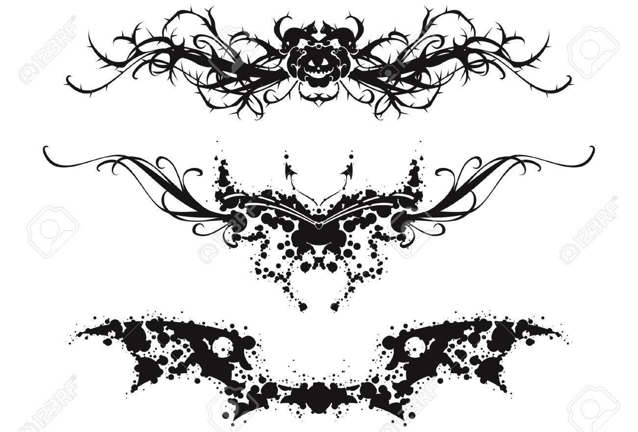 Black And White Abstract Designs Tattoo Abstract Black And White