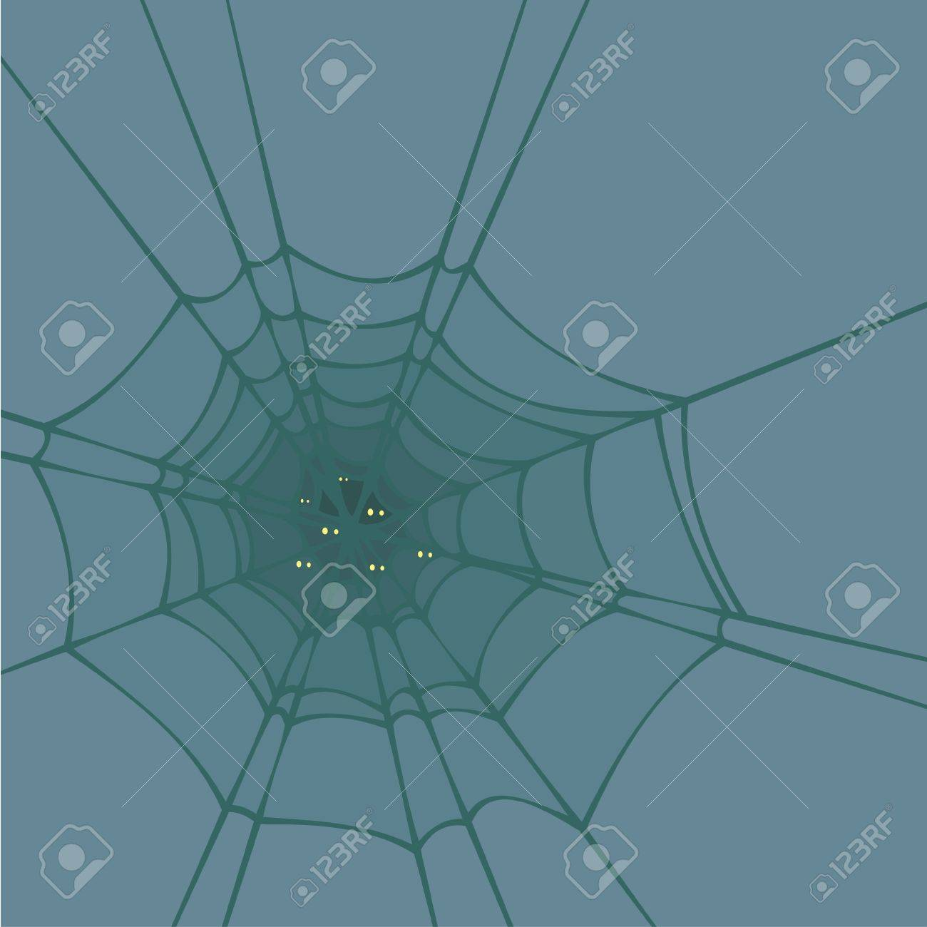 Spider web Stock Vector - 15889268
