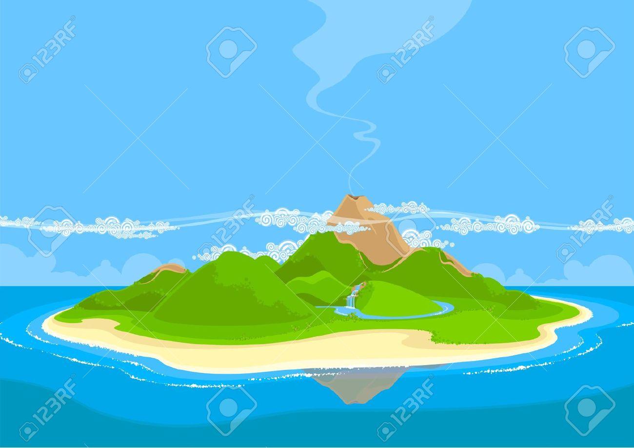 Beautiful exotic island - 17895339
