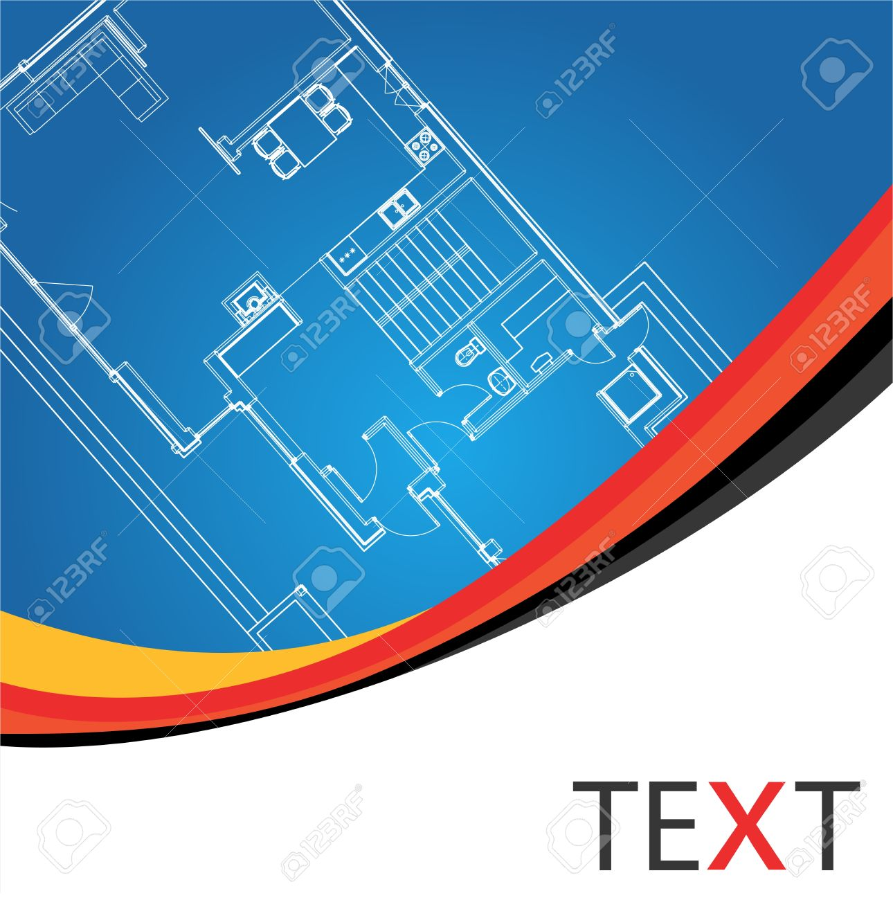 Architectural background vector Stock Vector - 10048580