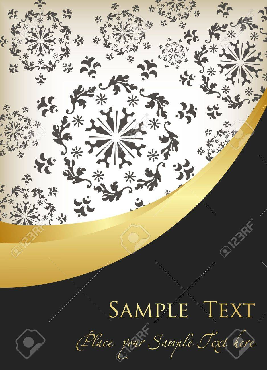 Vector Vintage background for book cover or card Stock Vector - 10322184