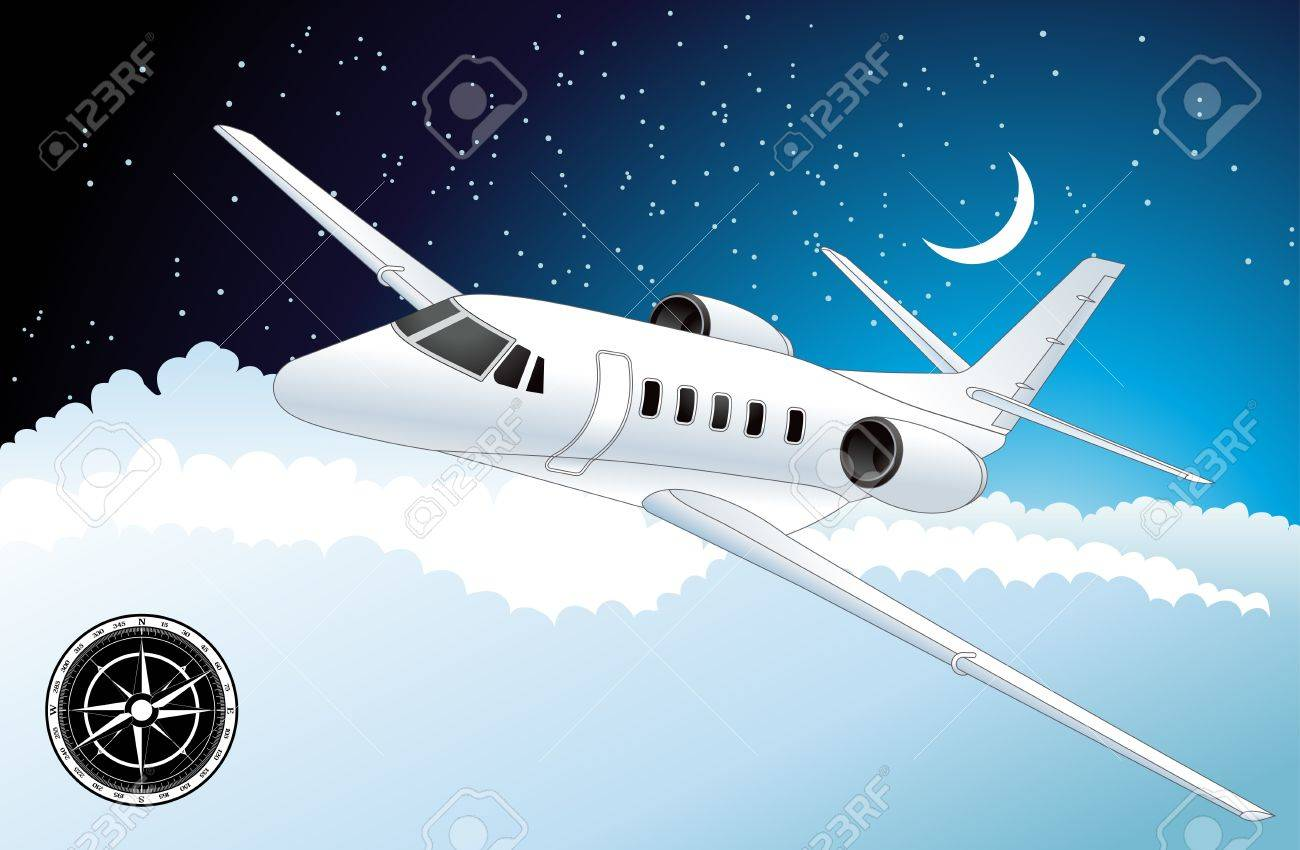 Airplane Stock Vector - 10330804