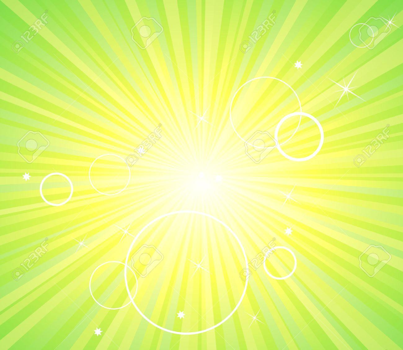 Fond Vert Clair résumé fond vert clair l'écologie clip art libres de droits