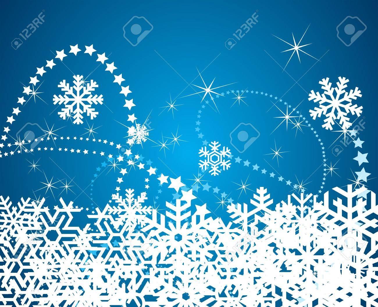 クリスマス雪背景イラスト ロイヤリティフリークリップアート、ベクター