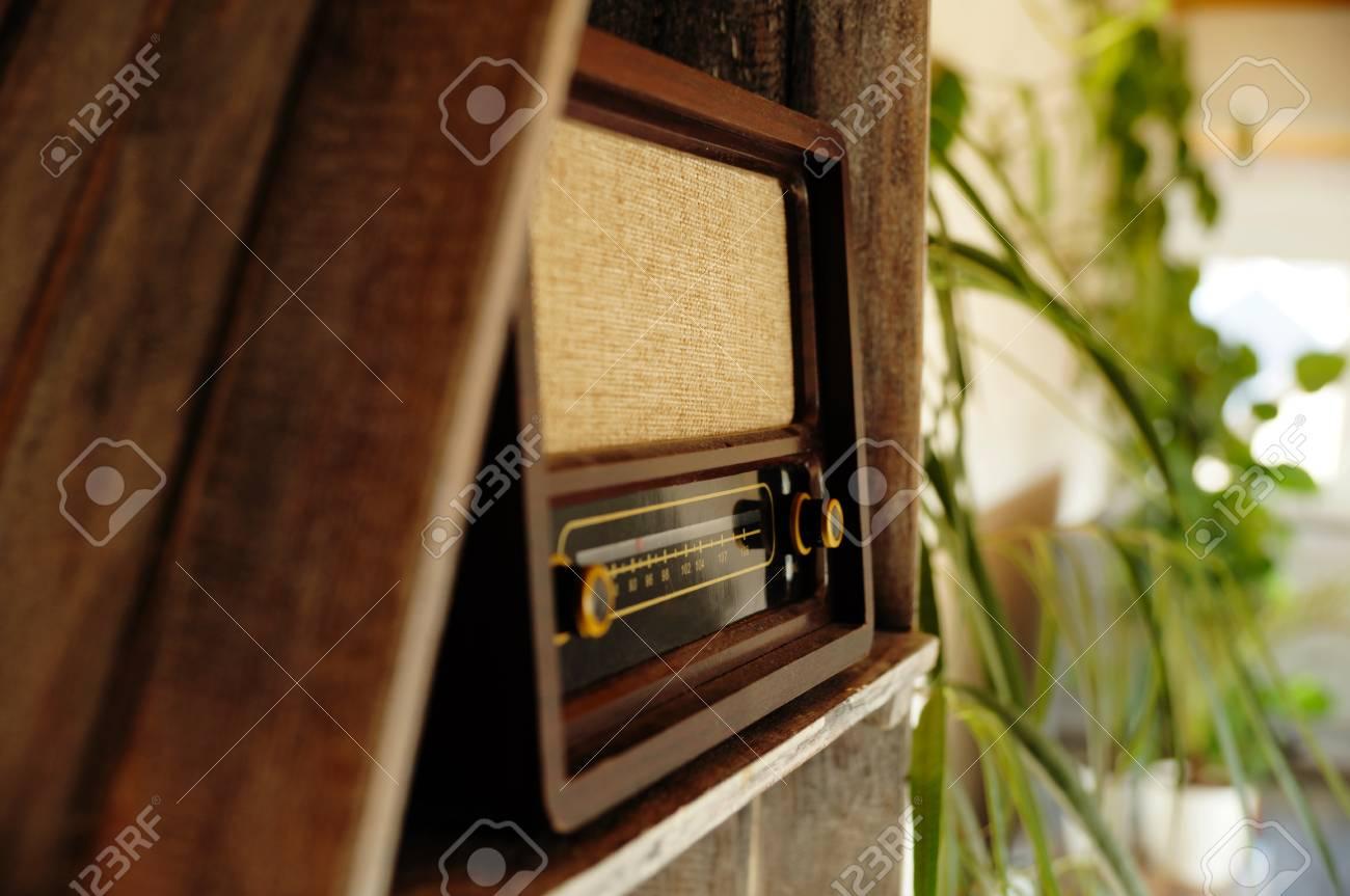 Radio Antik Schrank Alt Gramophon Wohnzimmer Schrank