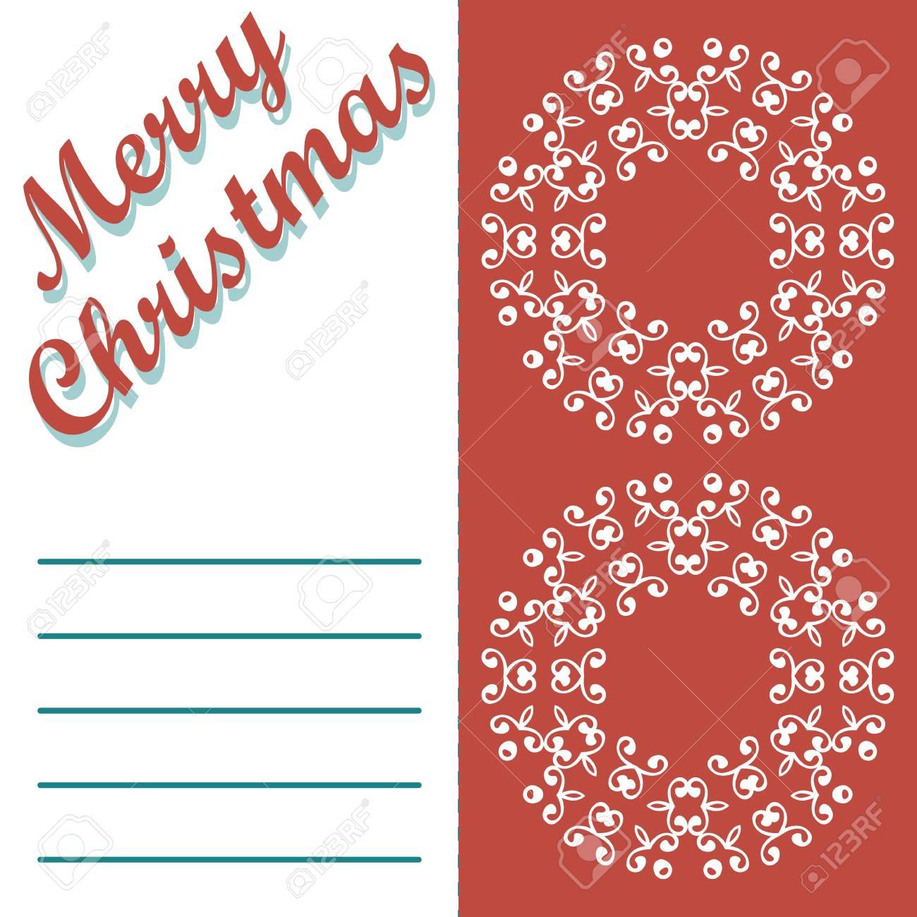 Biglietti Di Natale Modelli.Biglietto Di Auguri Di Natale E Modelli Vettore Sfondo Vacanze Buon Natale Desiderano Progettazione E Vintage Ornamento Decorazione Felice Anno