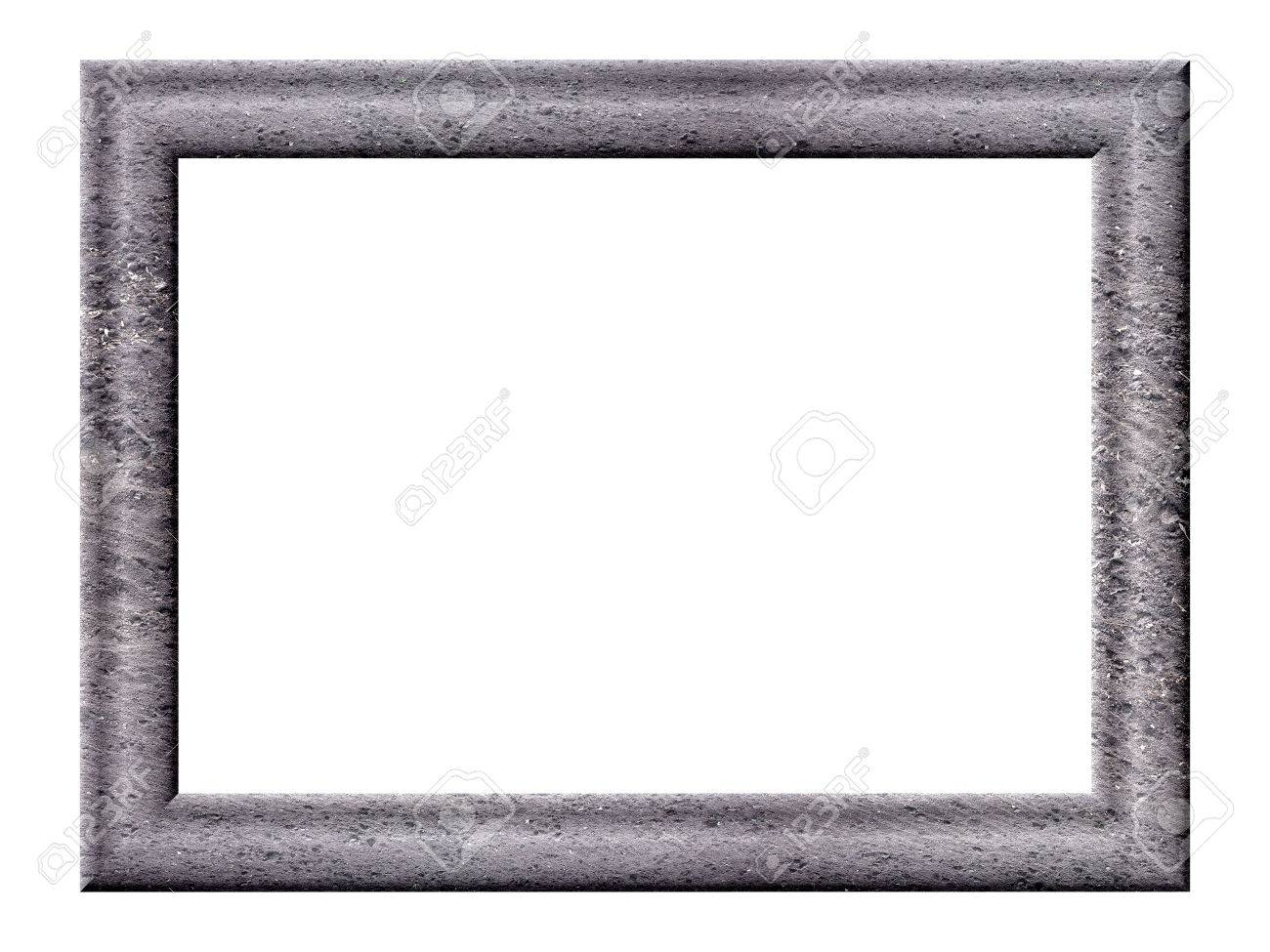 The Rectangular Volume Picture Frames Gray Tones With Texture ...