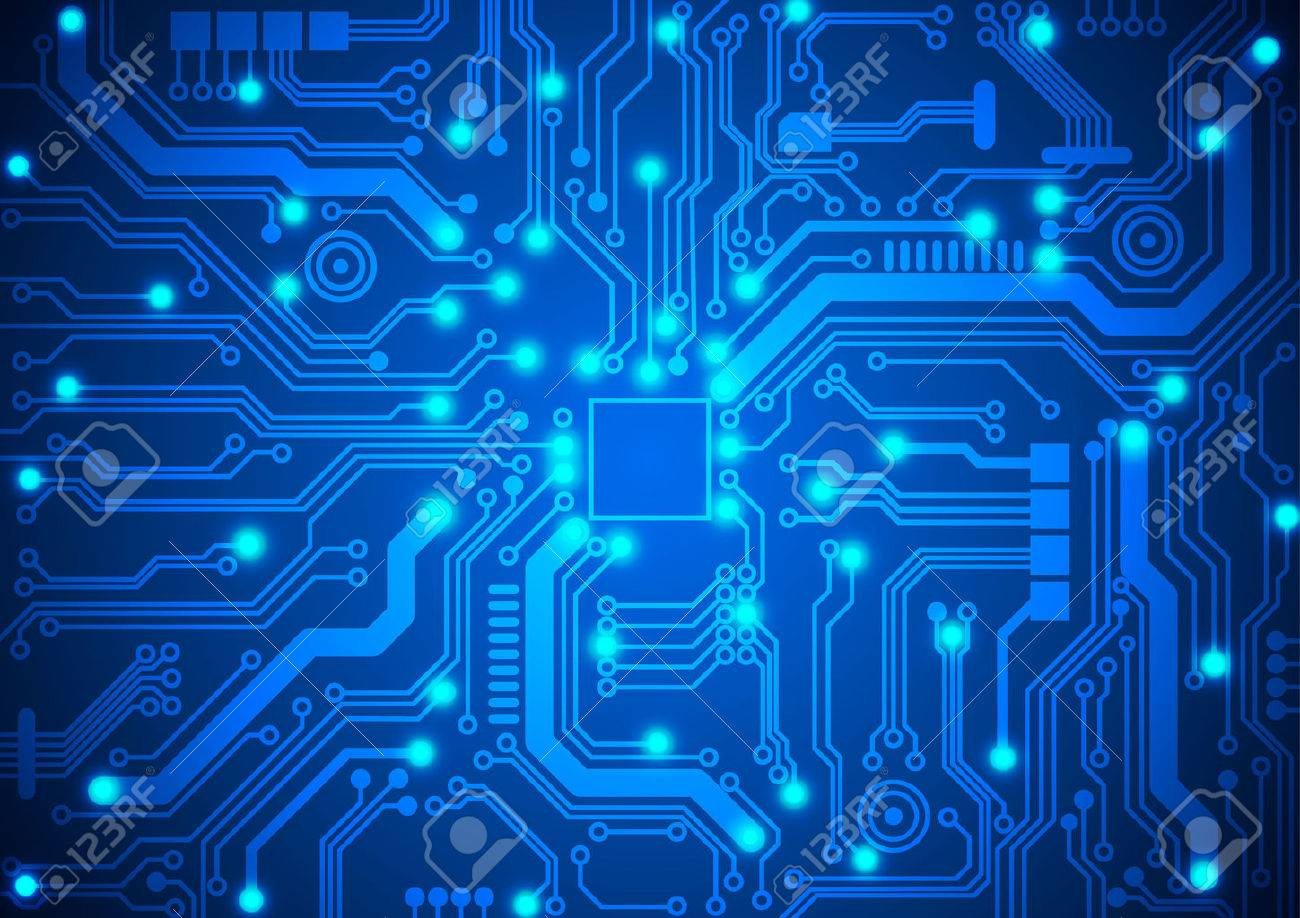 circuit board background - 32098286