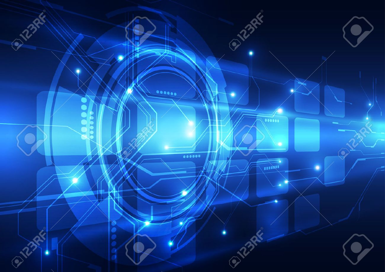 digital technology concept abstract background Stock Vector - 41855450