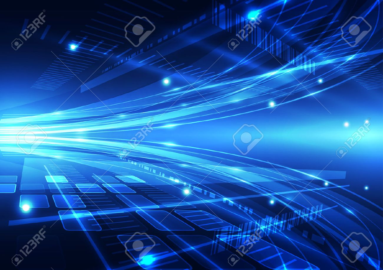 abstract vector future internet technology background illustration Stock Vector - 43136072