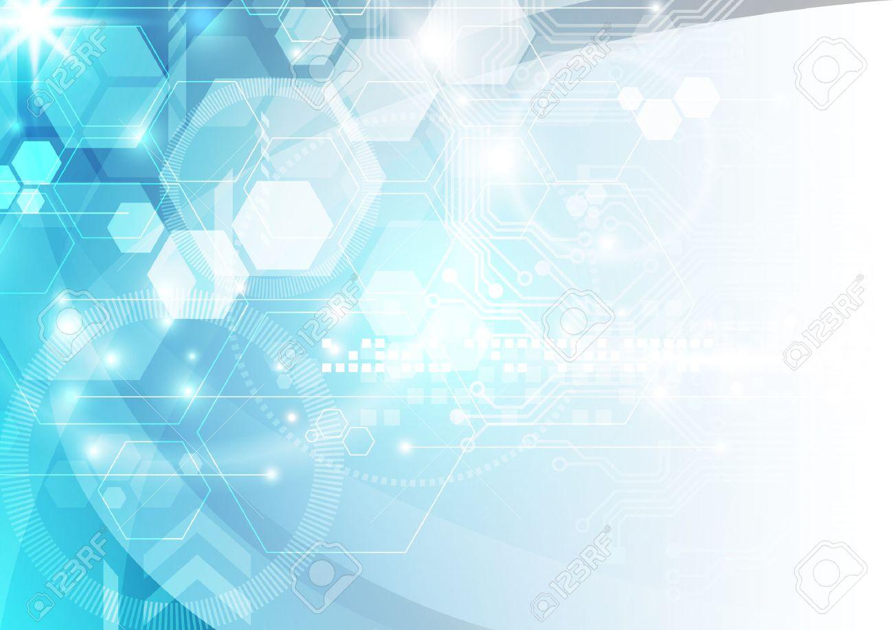 抽象的なベクトル技術背景イラストのイラスト素材ベクタ Image
