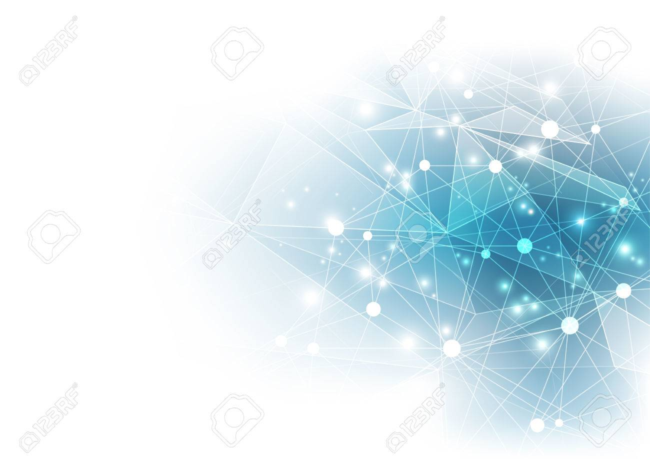 Abstract digital technology. vector background - 64882025