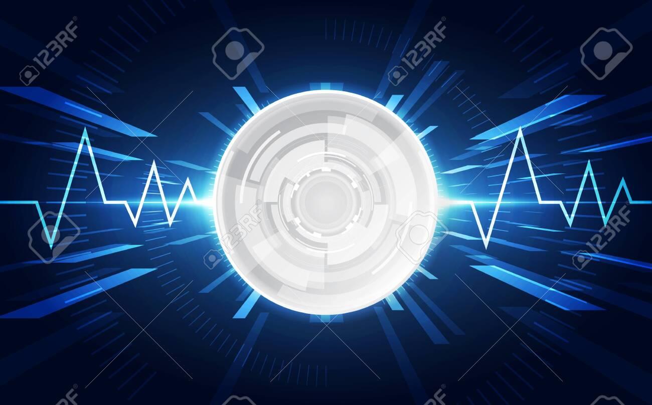 Abstract futuristic digital technology - 121024706