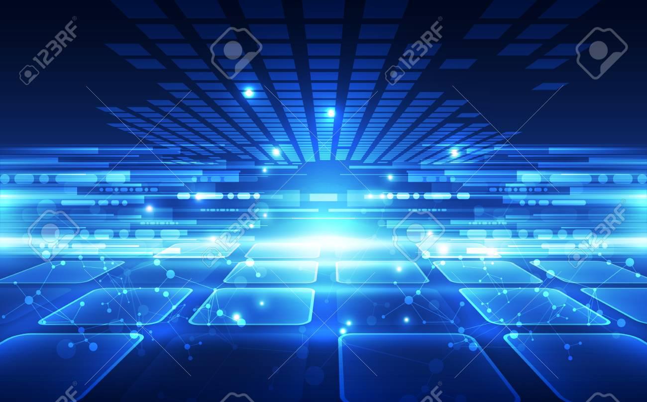 Abstract futuristic digital technology - 121024711