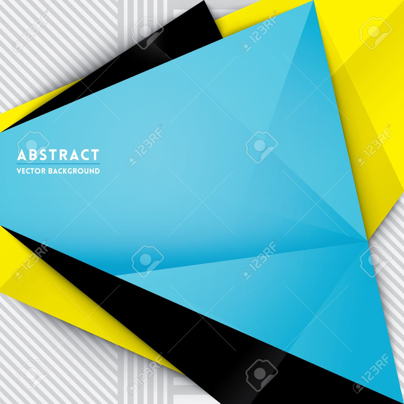 abstract triangle shape background for web design print