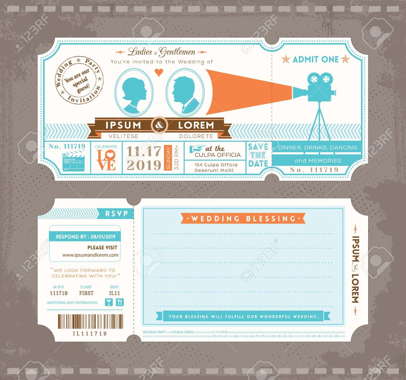 Gemütlich Druckbare Ticketvorlage Bilder - Beispiel Business ...