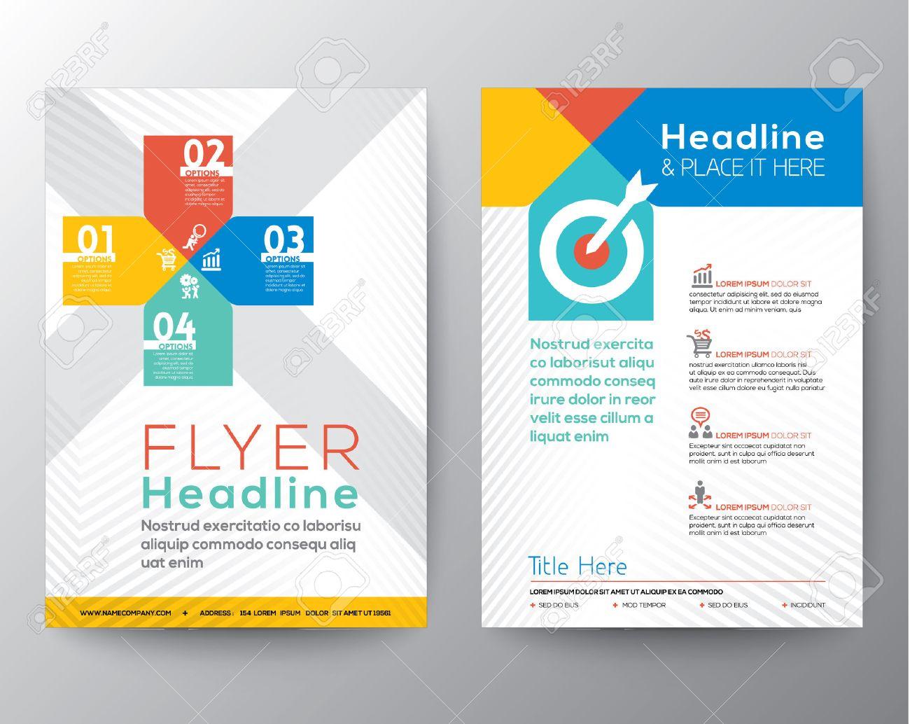 Charmant Grafik Design Broschüre Vorlagen Ideen - Beispiel Business ...