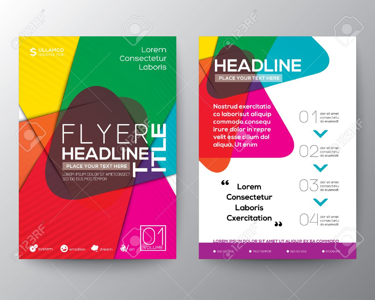 Beautiful Flyers Design Ideas Images Home Decorating Ideas . Awesome ...