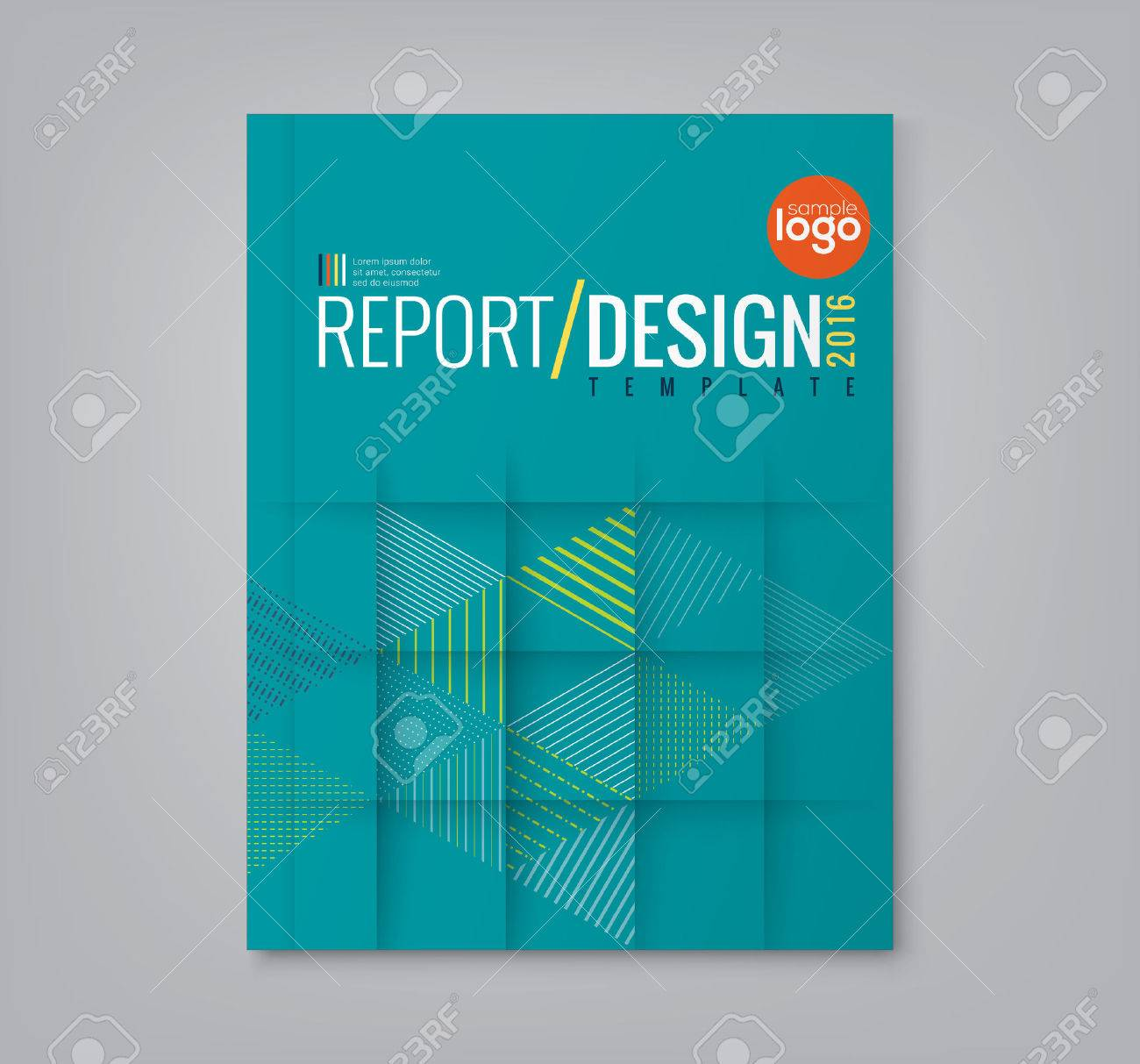 abstract minimal geometric triangle shapes design background for business annual report book cover brochure poster stock