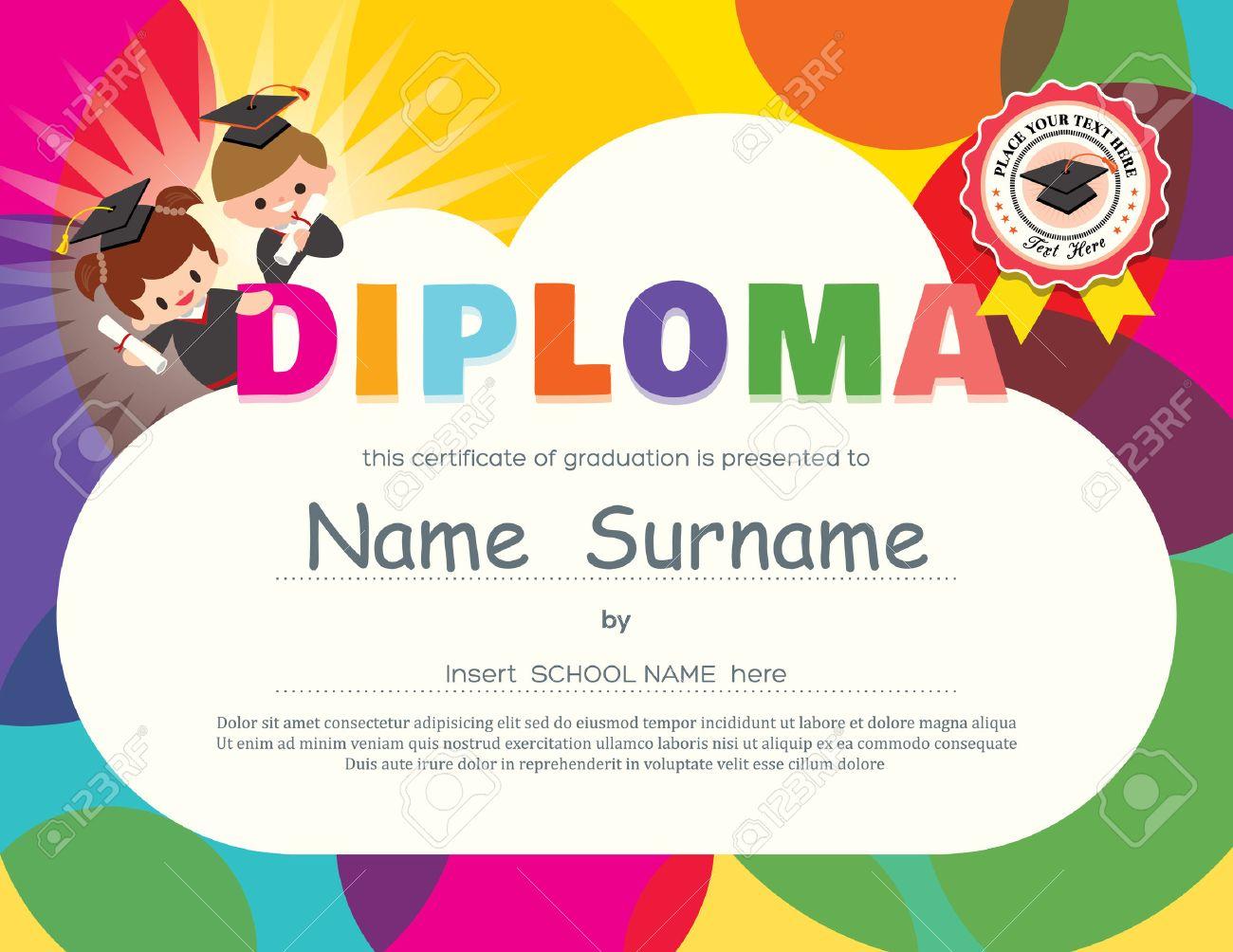 free kids certificates