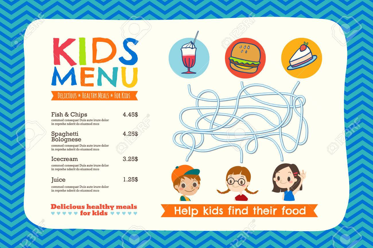 Kid menu template kids menu business meeting minutes template word 1479 placemat stock vector illustration and royalty free placemat 55656564 cute colorful kids meal menu placemat template stock vector menu placemathtml pronofoot35fo Gallery