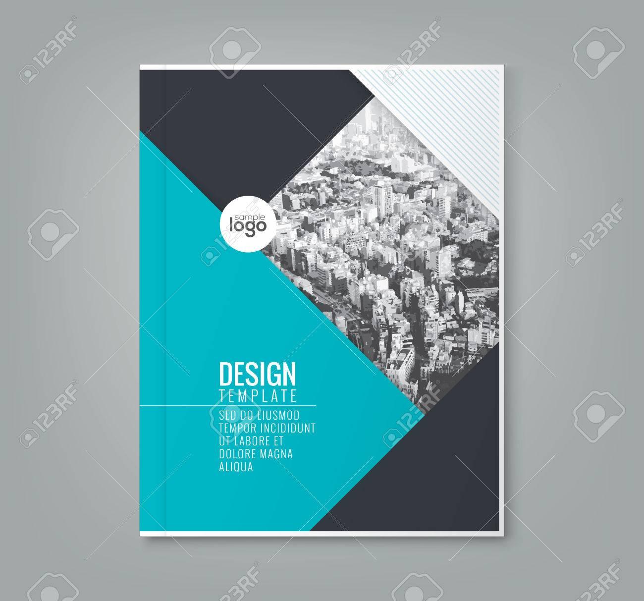 Minimal Einfache Blaue Farbe Design Vorlage Hintergrund Für Business ...