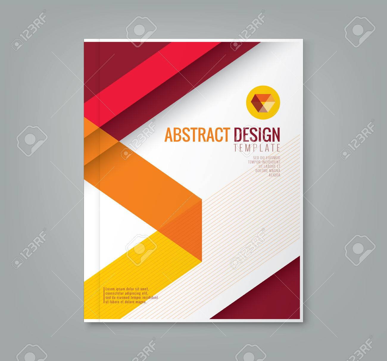Abstract red line design background template for business annual abstract red line design background template for business annual report book cover brochure flyer poster stock accmission Gallery