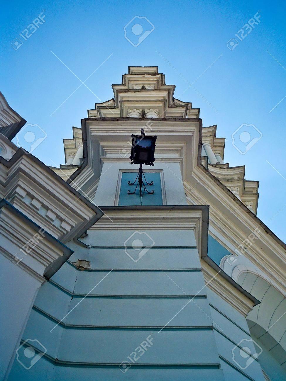 Orthodoxe Kathedrale Gebäude Verbindet Architektonische Elemente Aus ...