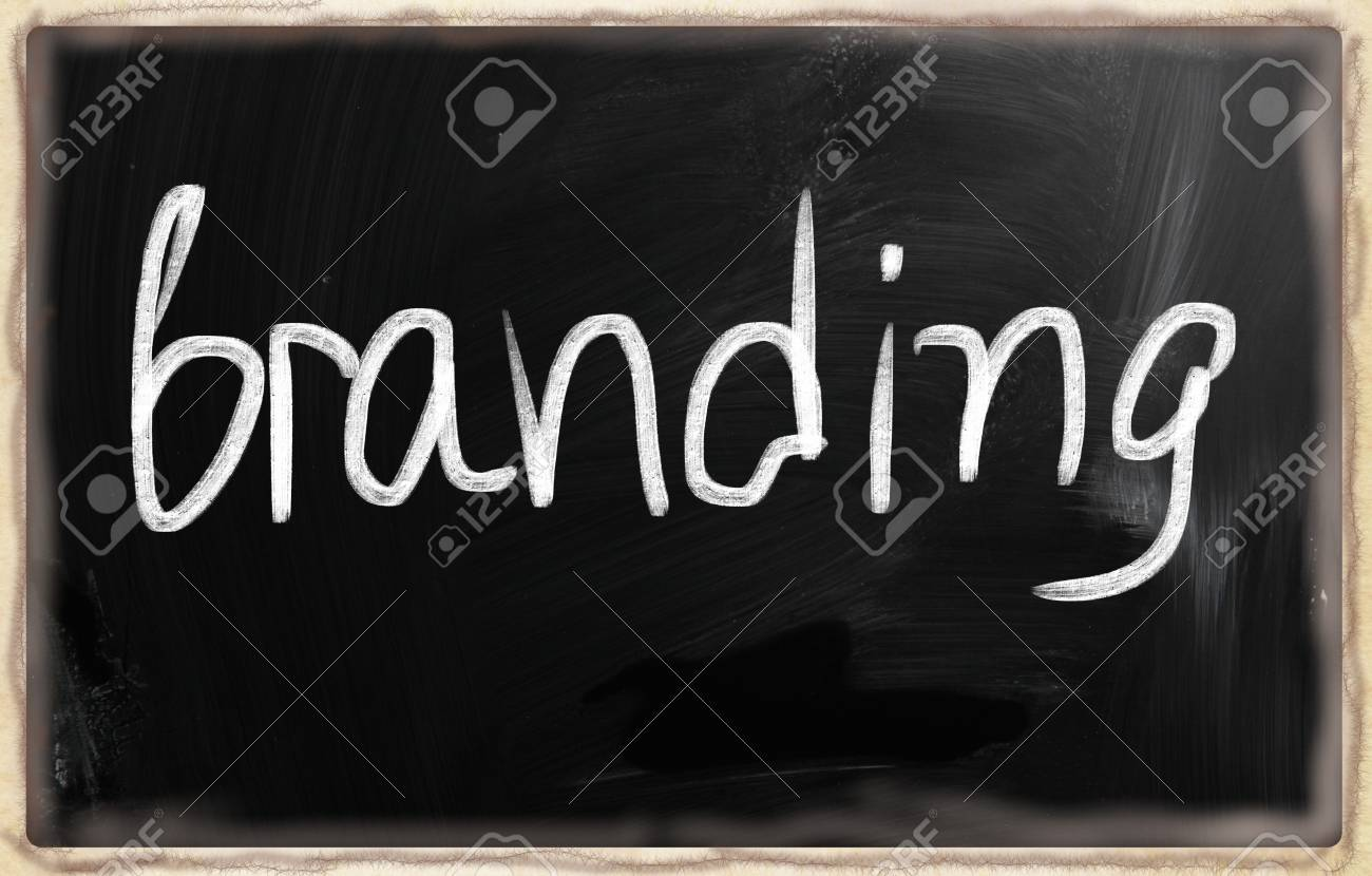 social media concept - text on a blackboard. Stock Photo - 20166620