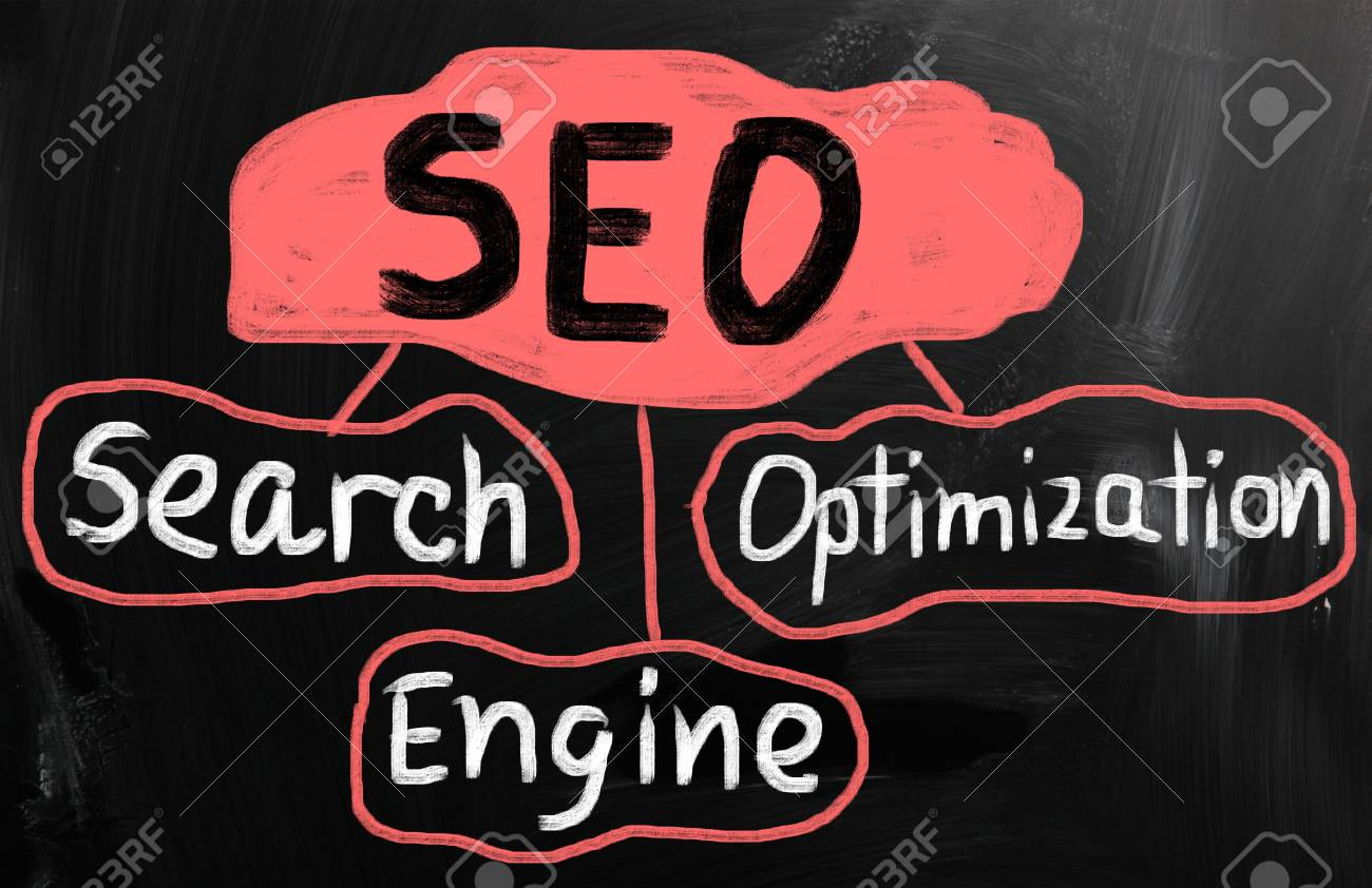 Search engine optimization ( SEO ) concept Stock Photo - 21174831