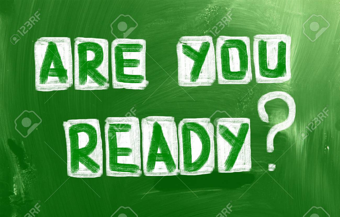 Are You Ready Concept Stock Photo - 23767385
