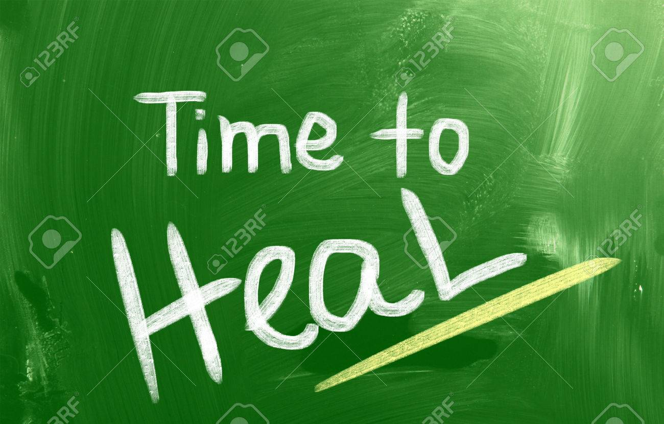 Time To Heal Concept Stock Photo - 24040208