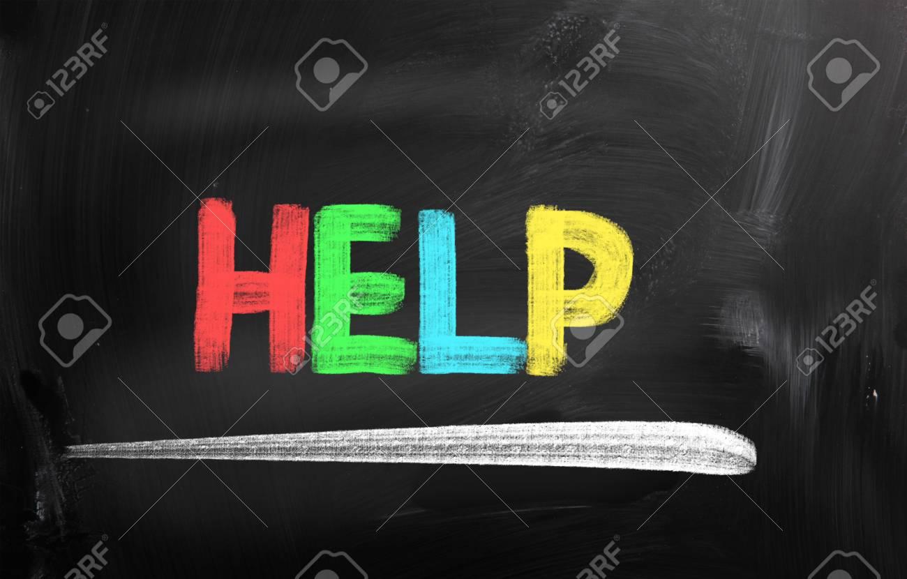 Help Concept Stock Photo - 24610571