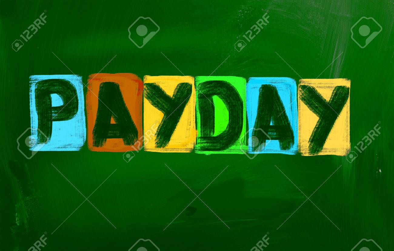 Payday Concept Stock Photo - 26663397
