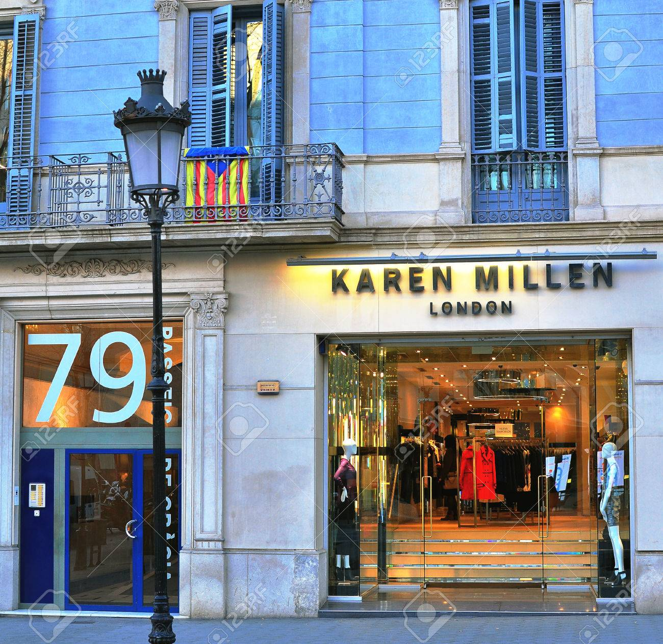 Barcelona Spain February 5 Karen Millen Flagship Store In Stock Photo Picture And Royalty Free Image Image 51412051