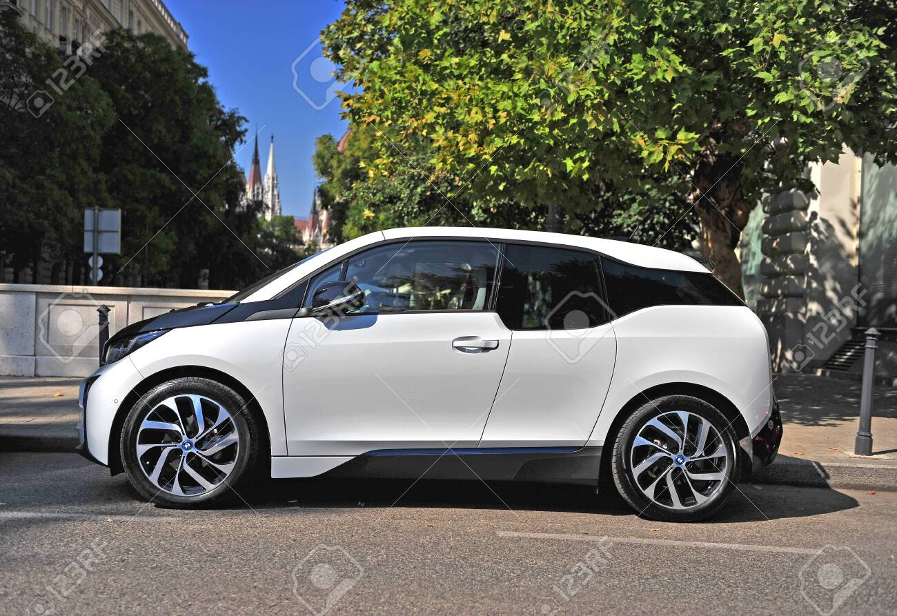 Budapest Hungary 21 September Bmw I3 Electric Car In The Stock Photo Picture And Royalty Free Image Image 133323177