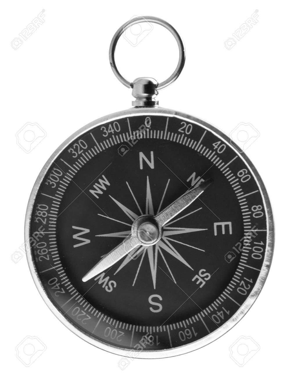 Compass isolated on white backgroun Stock Photo - 11036161