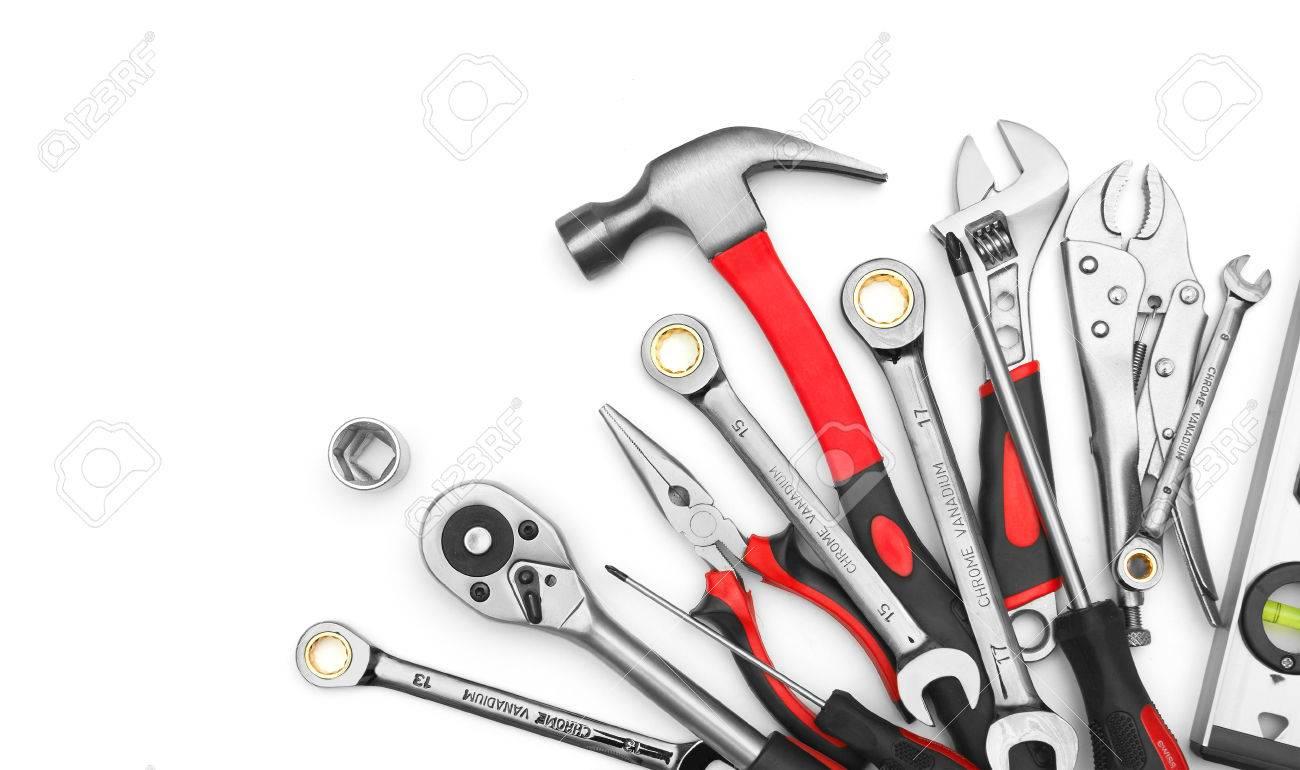 Many Tools on white background - 26349169