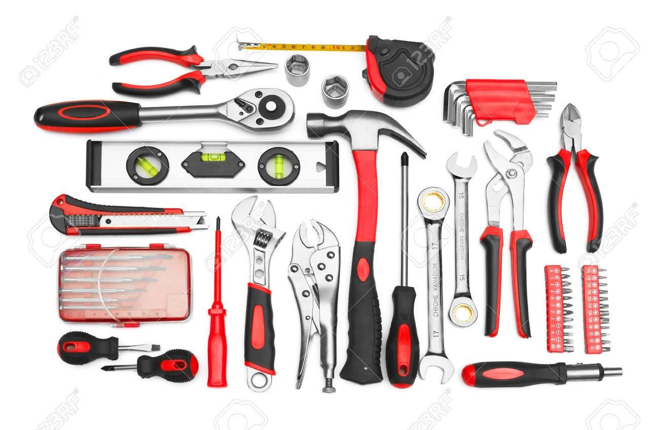 Many Tools isolated on white background - 26349171