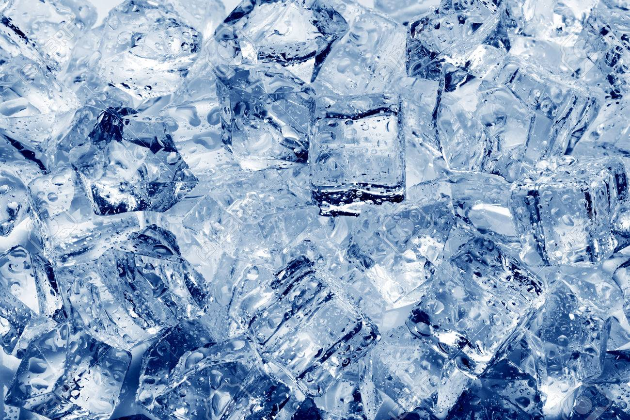 Ice cubes close-up background - 40131151