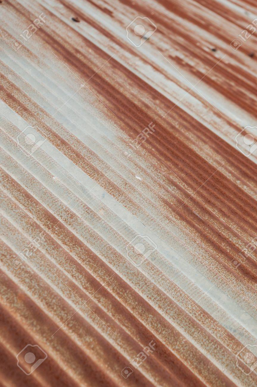 Surface of the roof made of zinc Stock Photo - 20283325