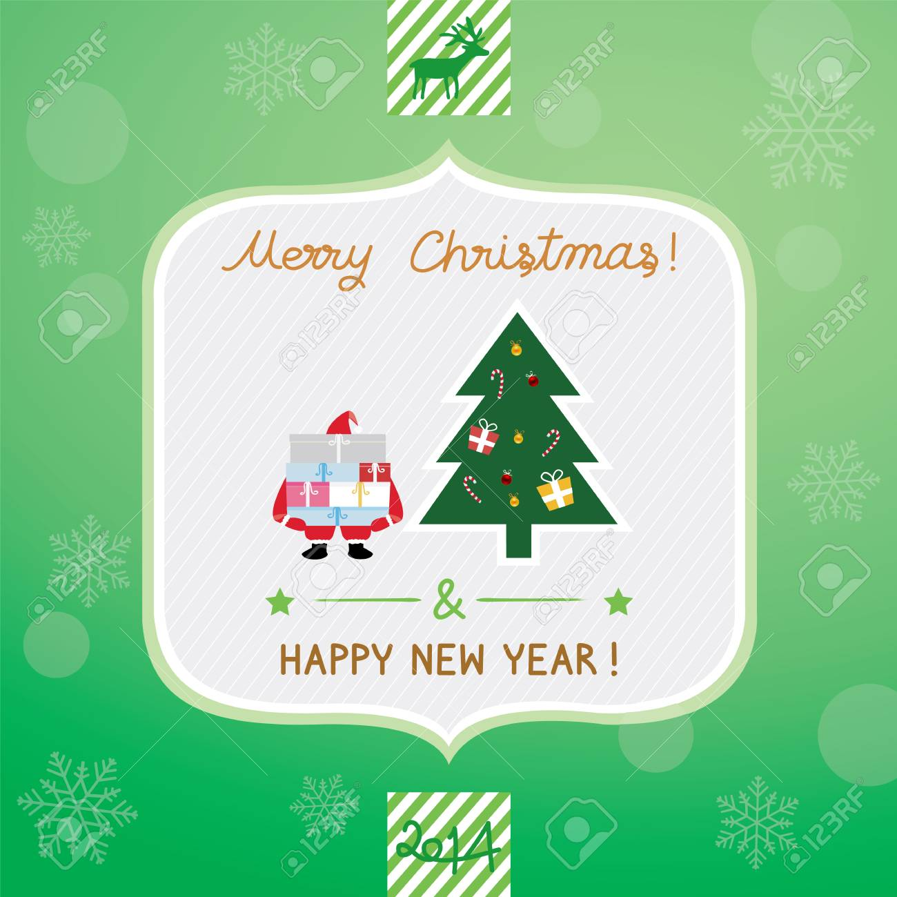 Christmas greeting card for everyone royalty free cliparts vectors christmas greeting card for everyone stock vector 23900498 m4hsunfo