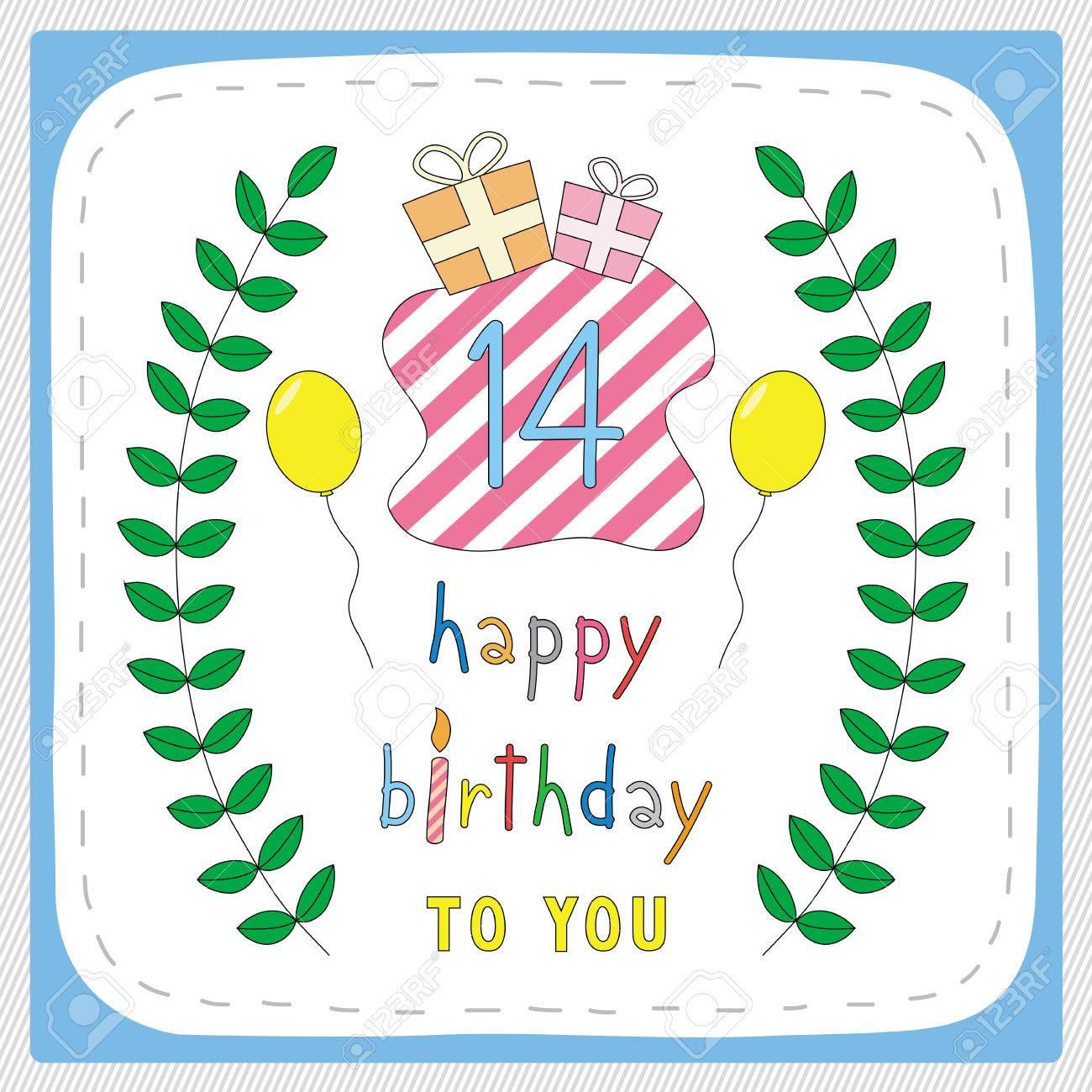 Happy Birthday Alles Gute Zum 14 Geburtstag Youtube
