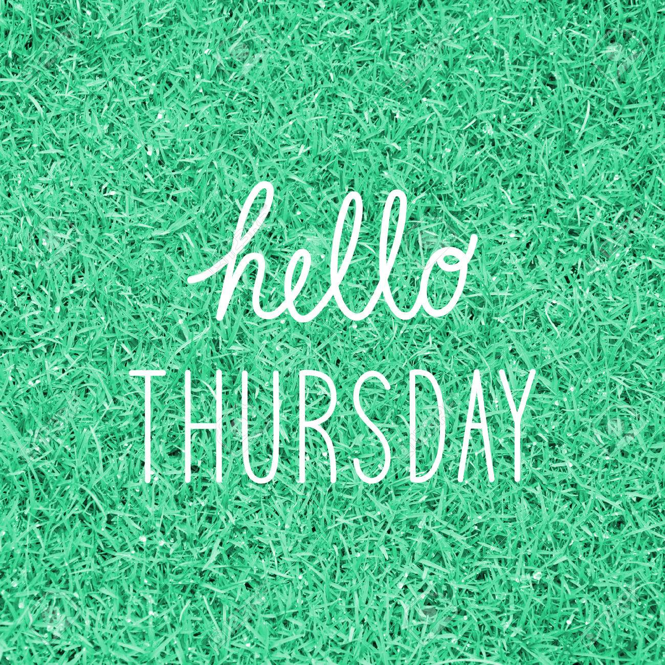Image result for hello thursday