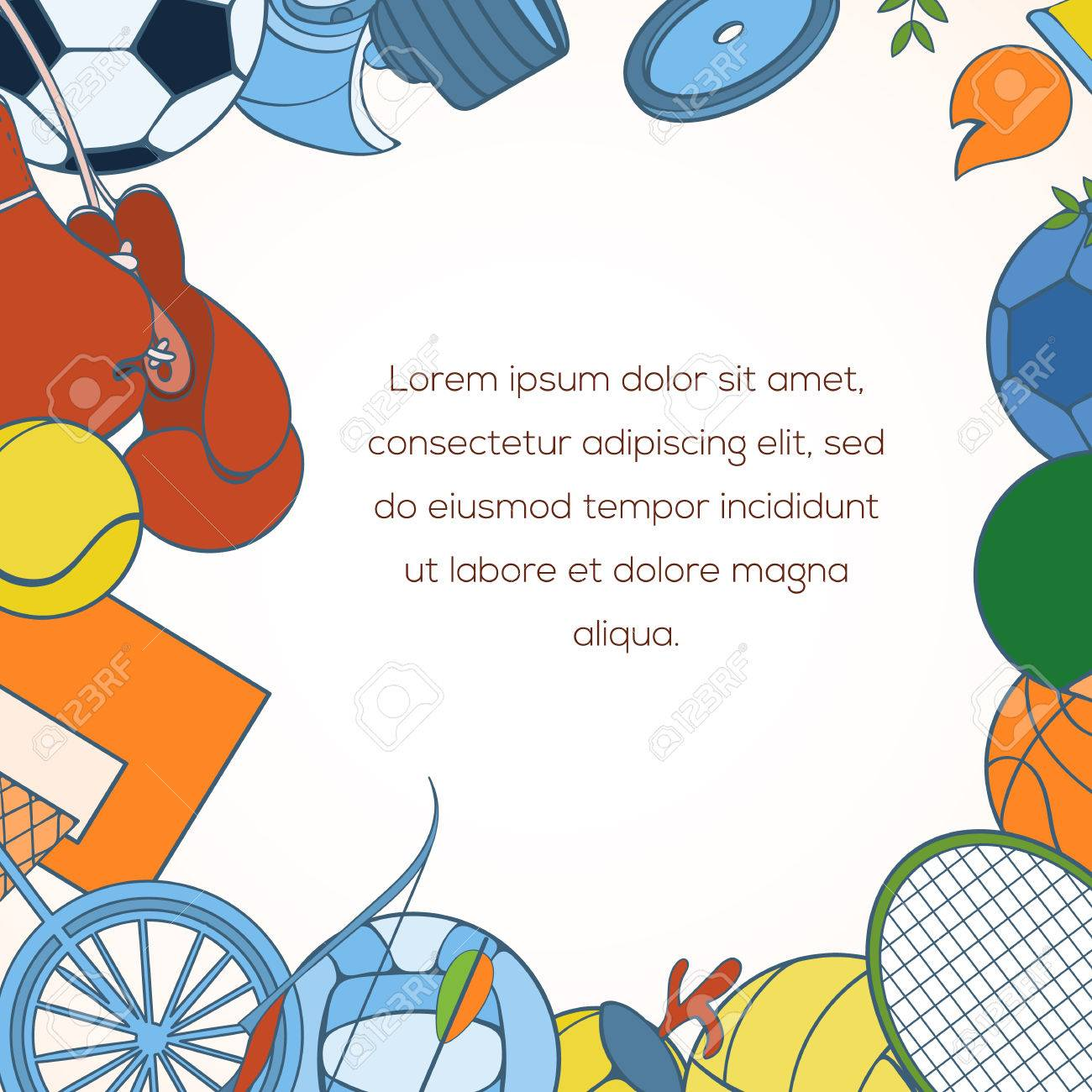 Sport invitation card can be used for holiday cards wedding sport invitation card can be used for holiday cards wedding invitation postcard or website stopboris Gallery