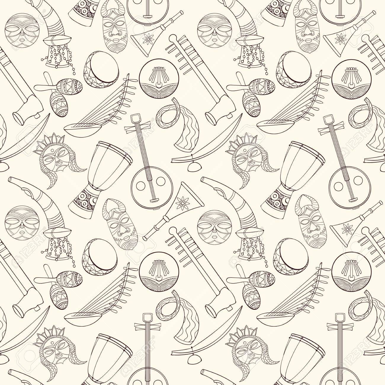 Most Inspiring Wallpaper Music Pattern - 66784721-hand-drawn-seamless-african-music-pattern-vector-illustration-can-be-used-for-wallpaper-website-back  Pic_201210.jpg