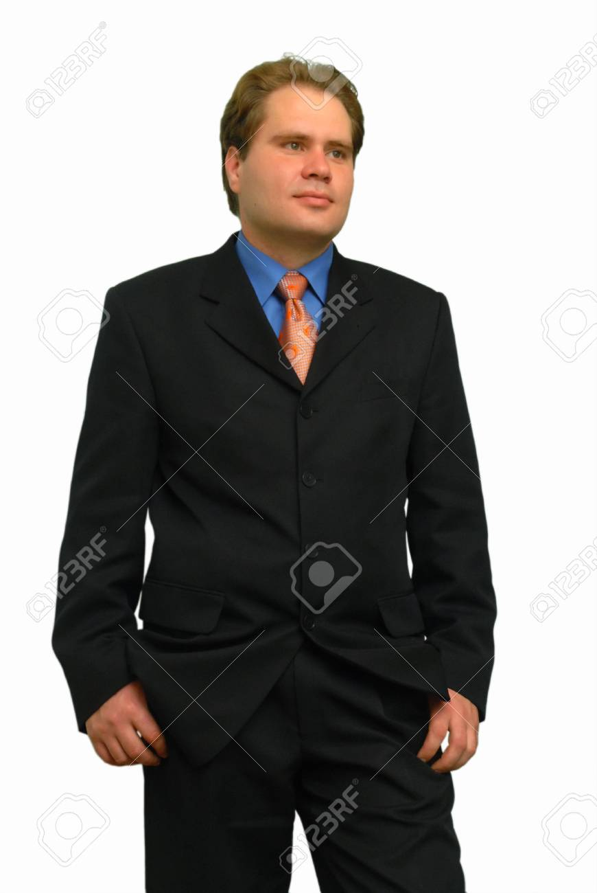 portraits of a young businessman Stock Photo - 4407028