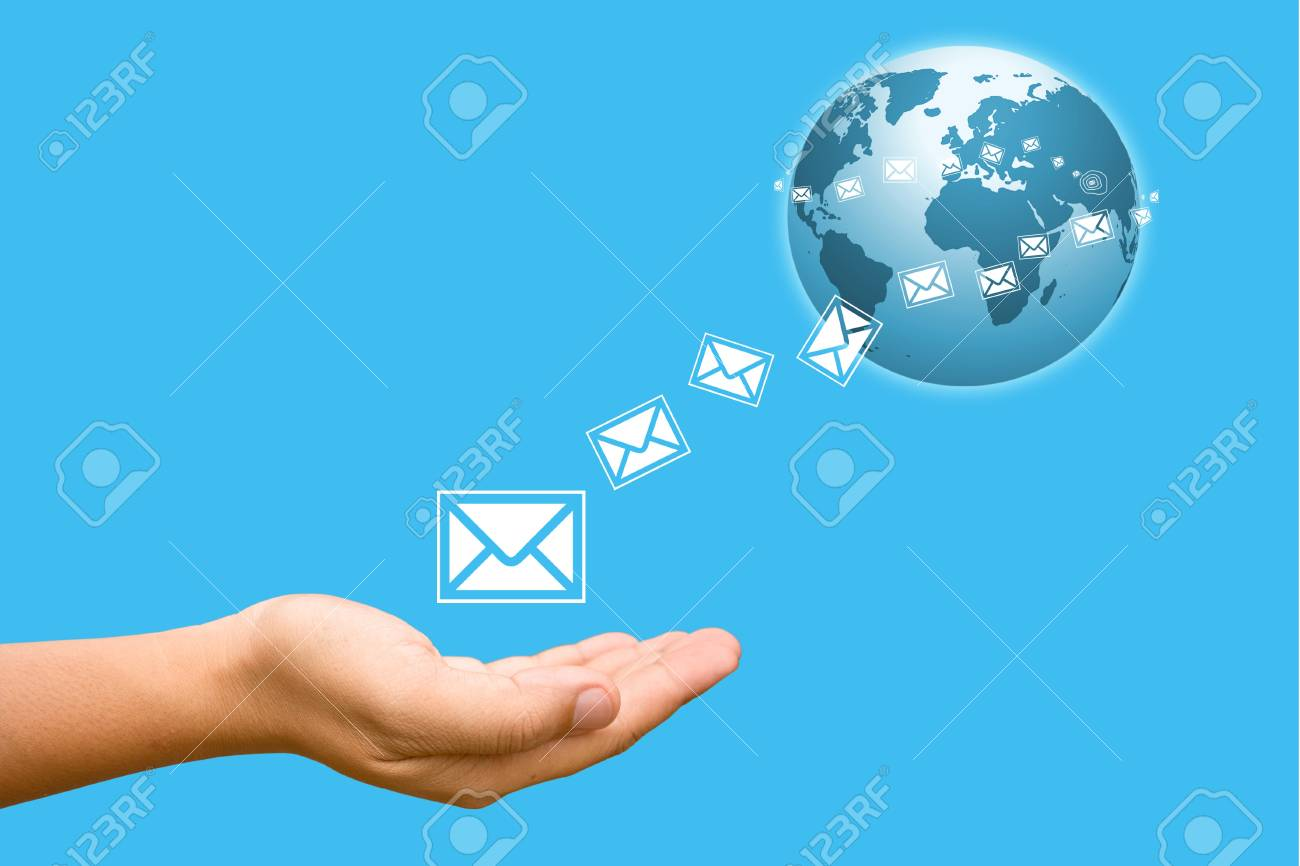 Hand to the world. Stock Photo - 10609520